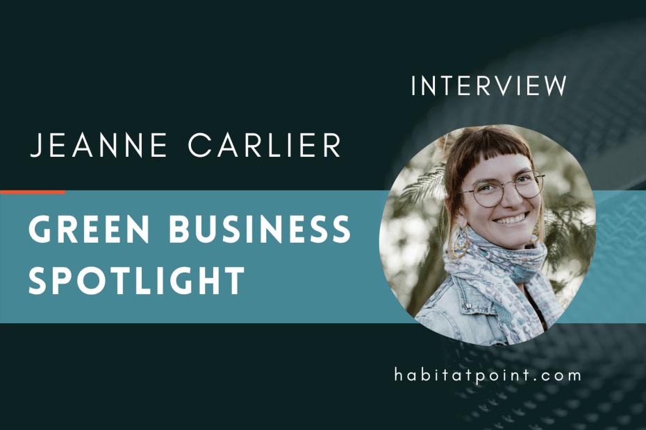green business interview