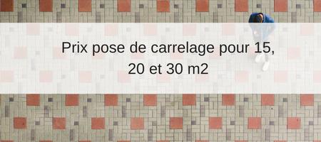 Prix Pose Carrelage Tarifs Au M2 Exemple De Devis Carreleur
