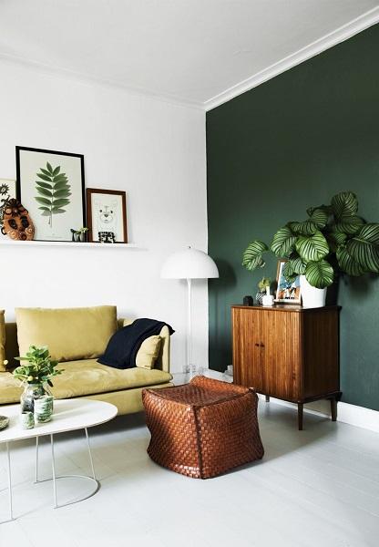 peinture salon 10 couleurs tendances