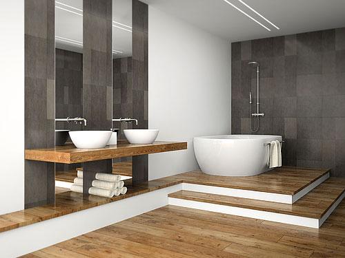 salle de bains en bois 5 inspirations
