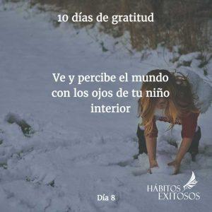 10 días de gratitud - Día 8 - Hábitos Exitosos