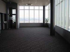 東側展望室