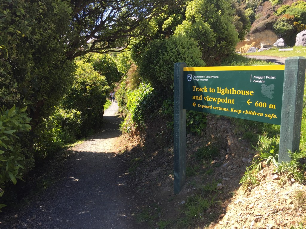 nugget point sign