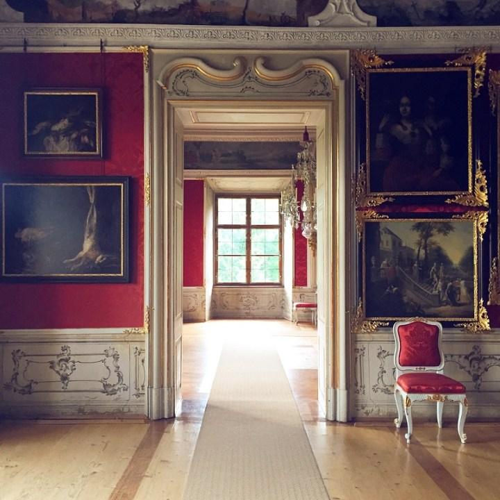 Inside Eggenberg Palace
