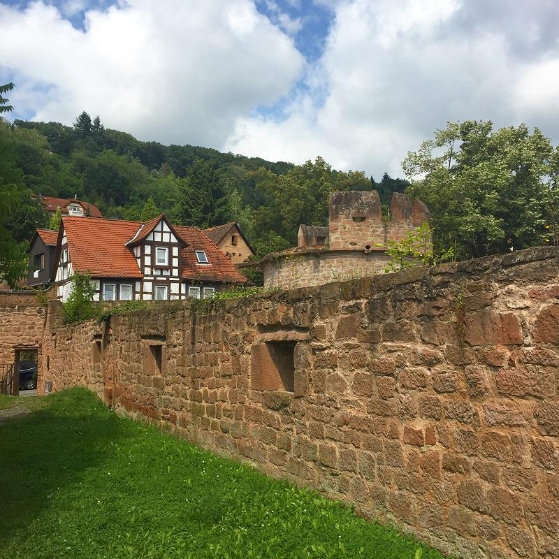 Medieval walls!