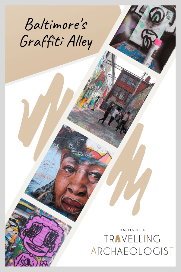 This post features my 7 photos that captures parts of Baltimore's Graffiti Alley.