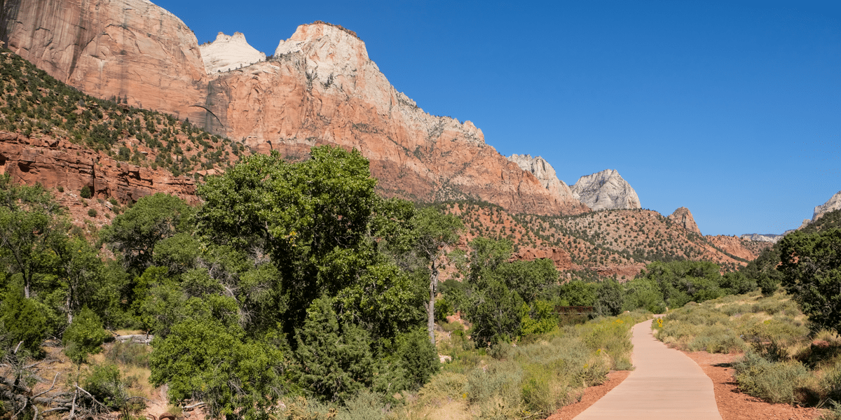 Pa'rus Trail in Zion National Park