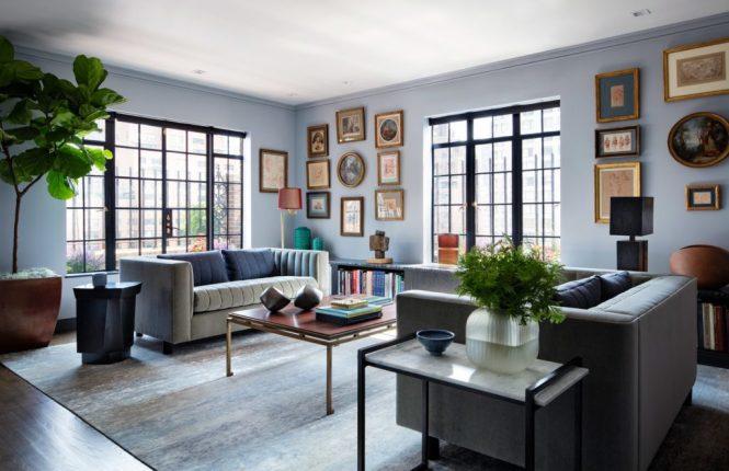 Elegant Art Filled Apartment