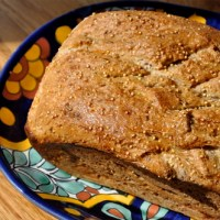 Whole Wheat Bread of Millet & Flax Seed