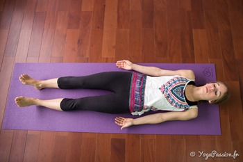 savasana relaxation yoga