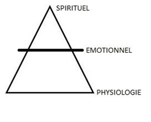 pyramide émotion physiologie spiritualité