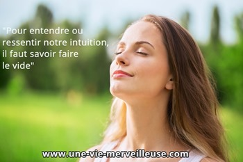 entendre ressentir son intuition