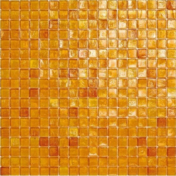 waterglass amber glass mosaic tile