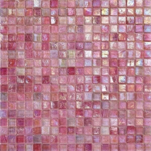 iridium azalea 2 glass mosaic tile