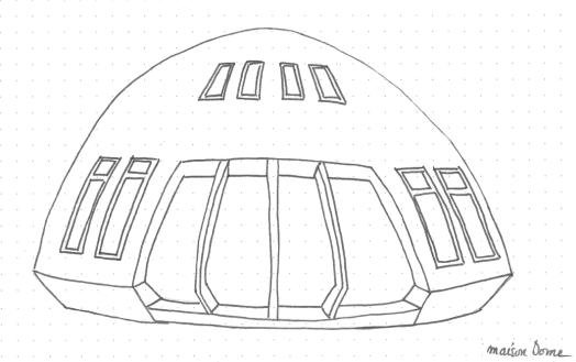 Maison Dome - maison héliotrope - Dome space