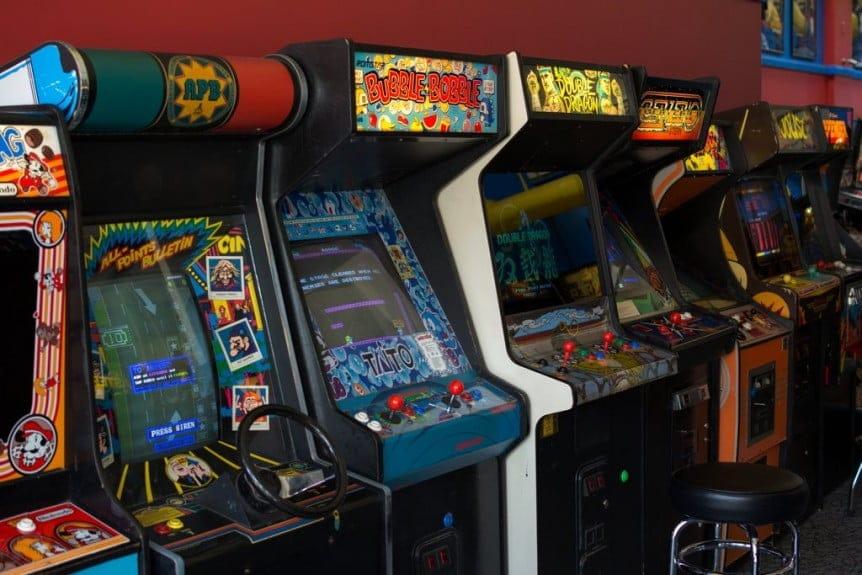 Videojuegos Arcade de los 80