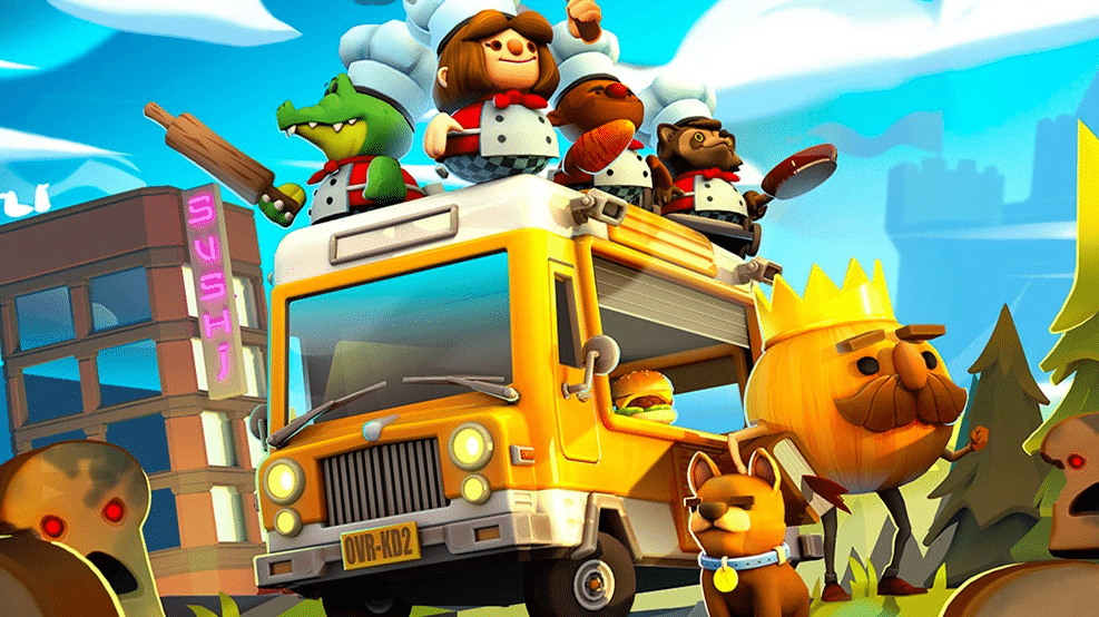 Overcooked 2 llega a switch