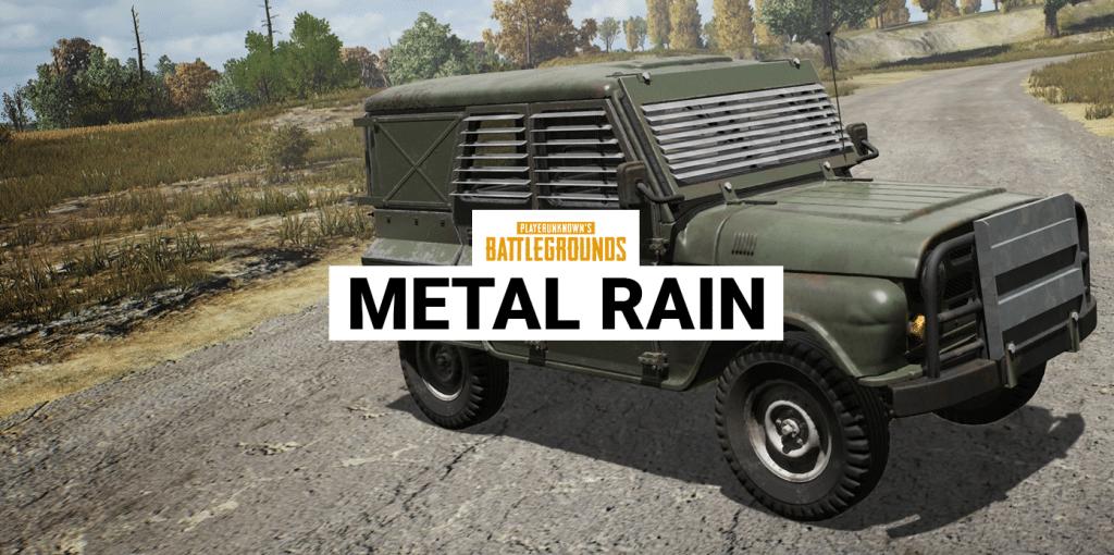 pubg lluvia metalizada
