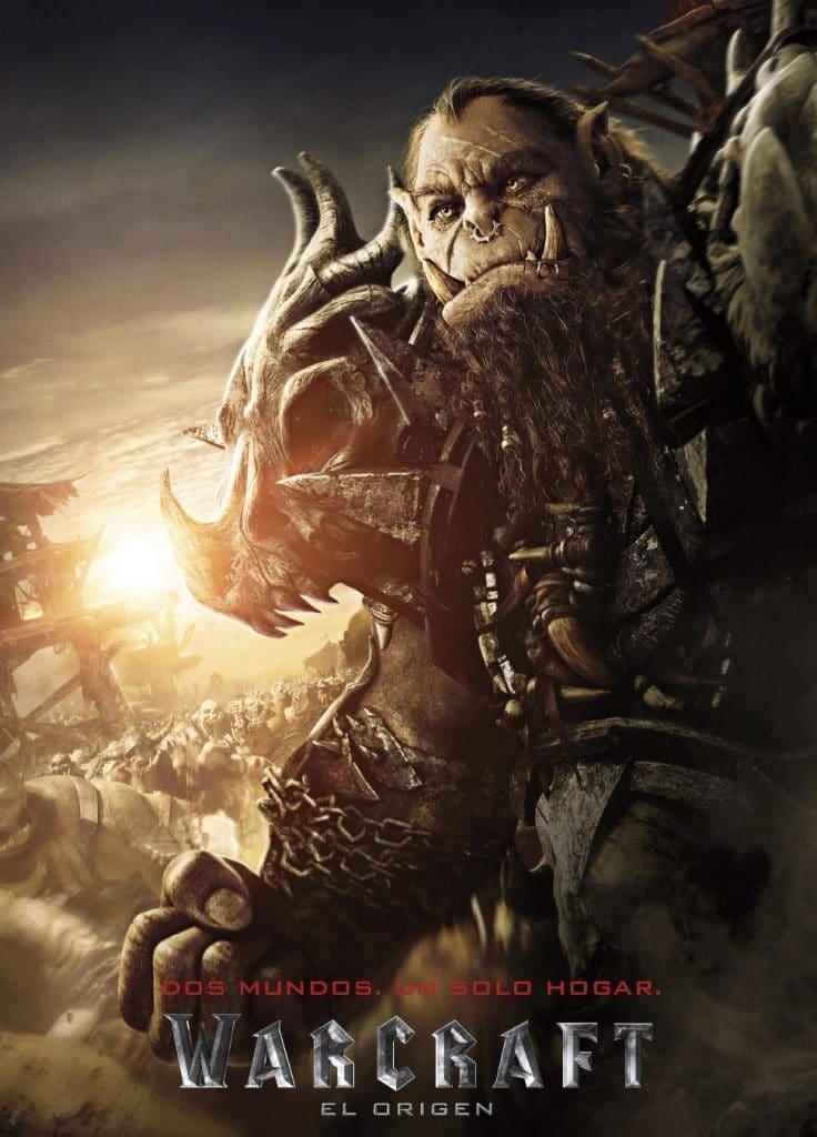 Películas basadas en videojuegos Warcraft película