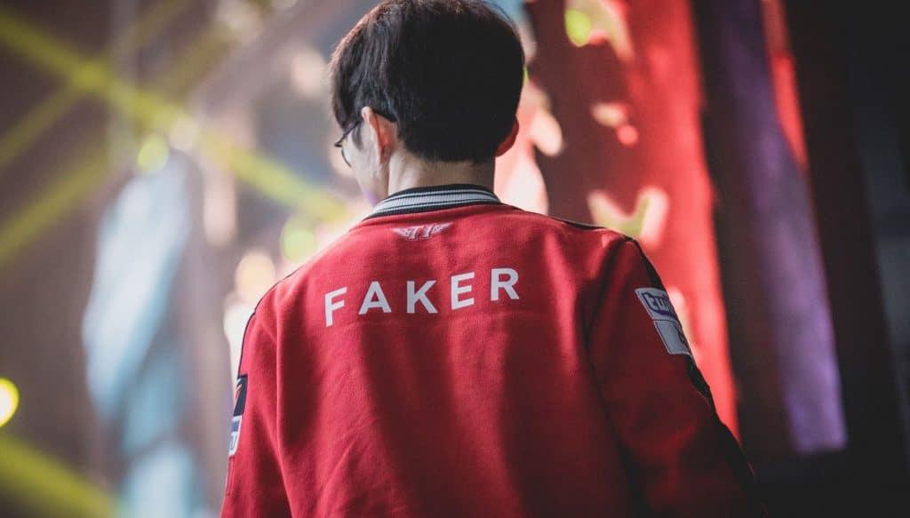 Faker skt t1 juega ultima SK Telecom T1 en la LCK