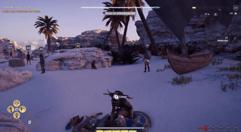 Assassin's Creed Odyssey jugabilidad gameplay