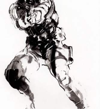 Solid Snake Metal Gear Solid wall paper