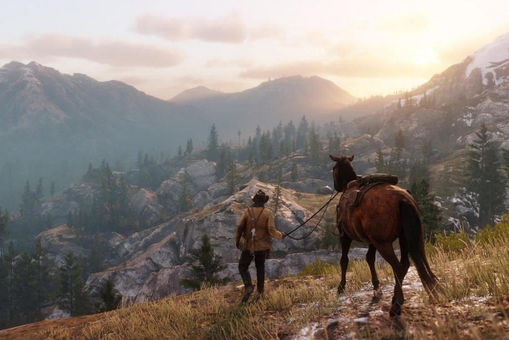 Red Dead Redemption 2 líder en ventas