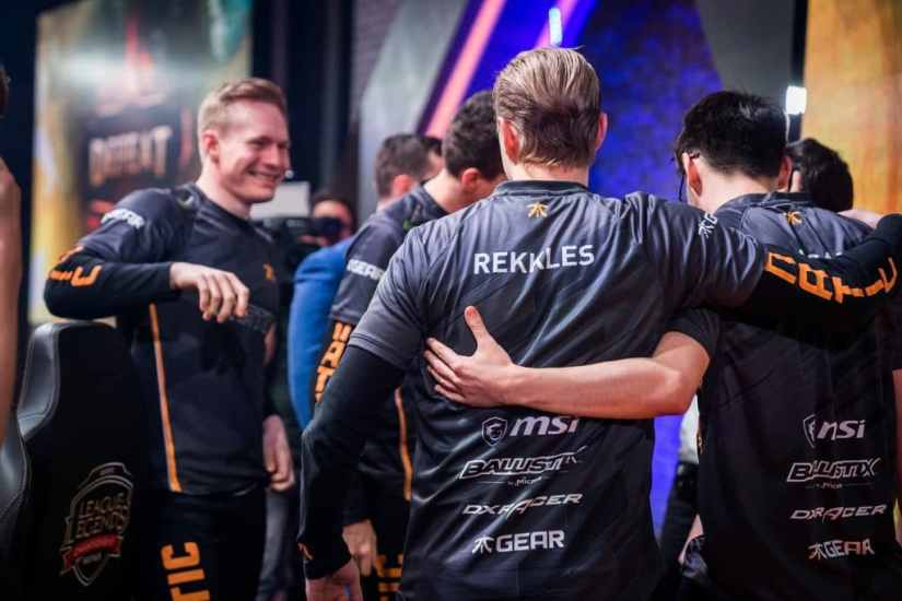 Rekkles y Fnatic elimina a Edward Gaming