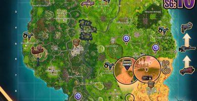 Fortnite: lugares de pruebas cronometradas