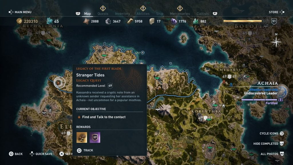 Assassin's Creed Odyssey: Activa el nuevo DLC Legacy of the First Blade