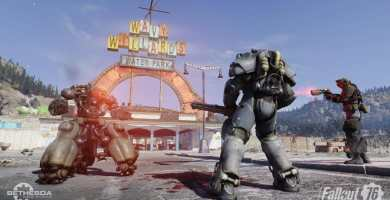 Fallout 76 The stores created by the players arrive