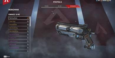 Apex Legends El nuevo parche nerfea las armas Wingman, Pacificador
