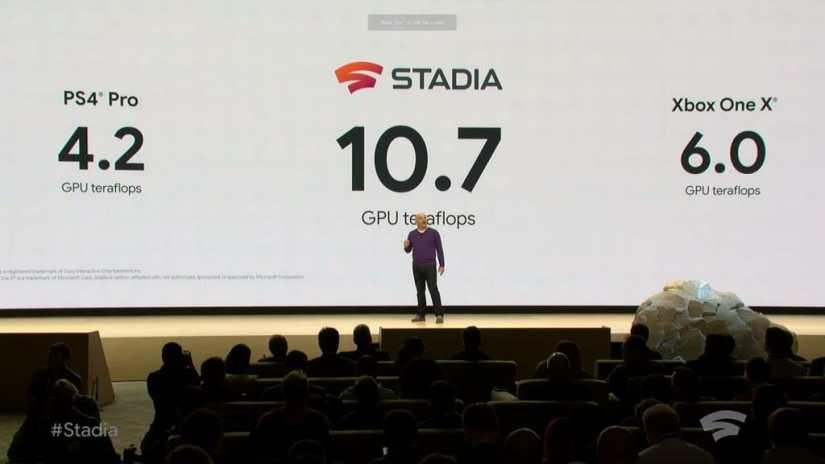 Consola de Google para Videojuegos Stadia GDC