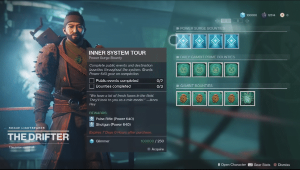 Destiny 2 Temporada del Nómada comienza la próxima semana y la hoja de ruta está repleta de contenido, armas, objetos, gambit prime y mucho más.