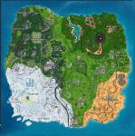 Fortnite: donde está la Lupa en la pantalla de carga del Mapa del tesoro