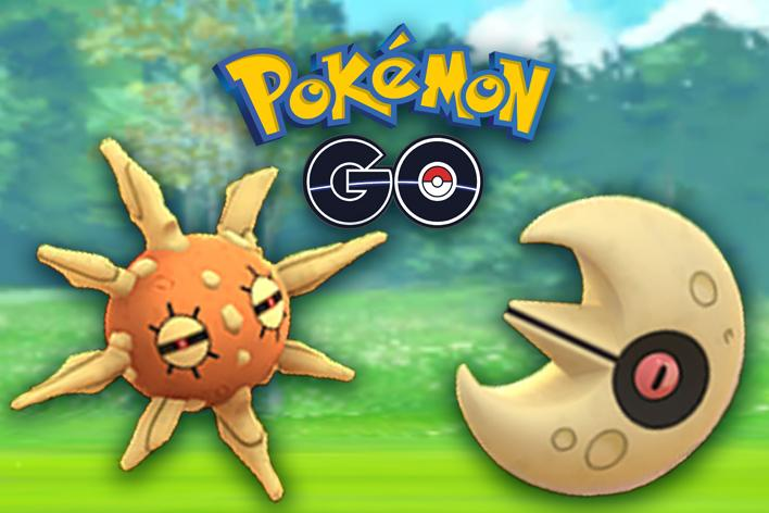 Lunatone Shiny y Solrock Shiny en Pokemon Go