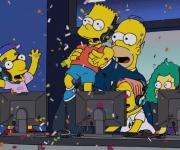 Phreak y Bart en el próximo episodio de Esports de Los Simpsons