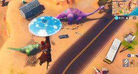 Fortnite: Baila entre Tres Dinosaurios – Desafíos Semana 9 Temporada 8