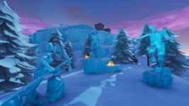 Fortnite: Baila entre 3 Esculturas de Hielo – Desafíos Semana 9 Temporada 8