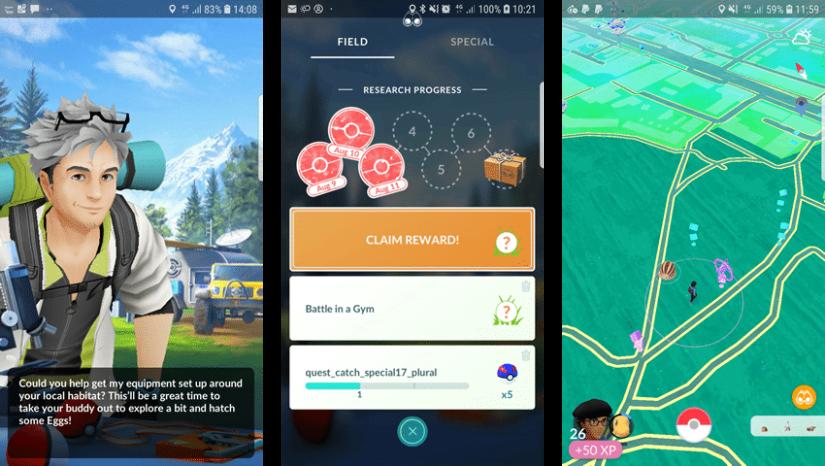 pokemon go misiones abril