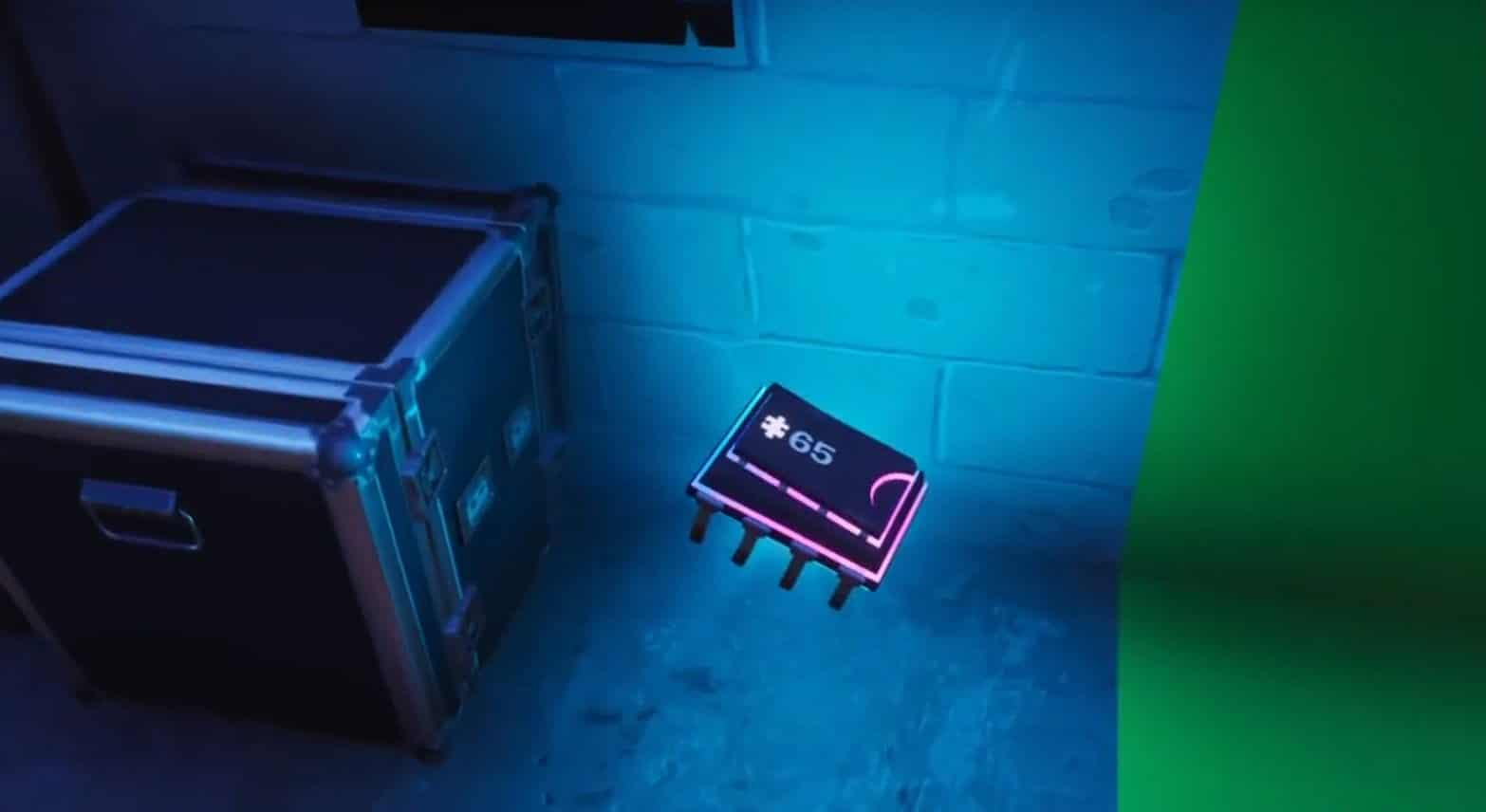 Fortnite Dónde encontrar el Fortbyte 65