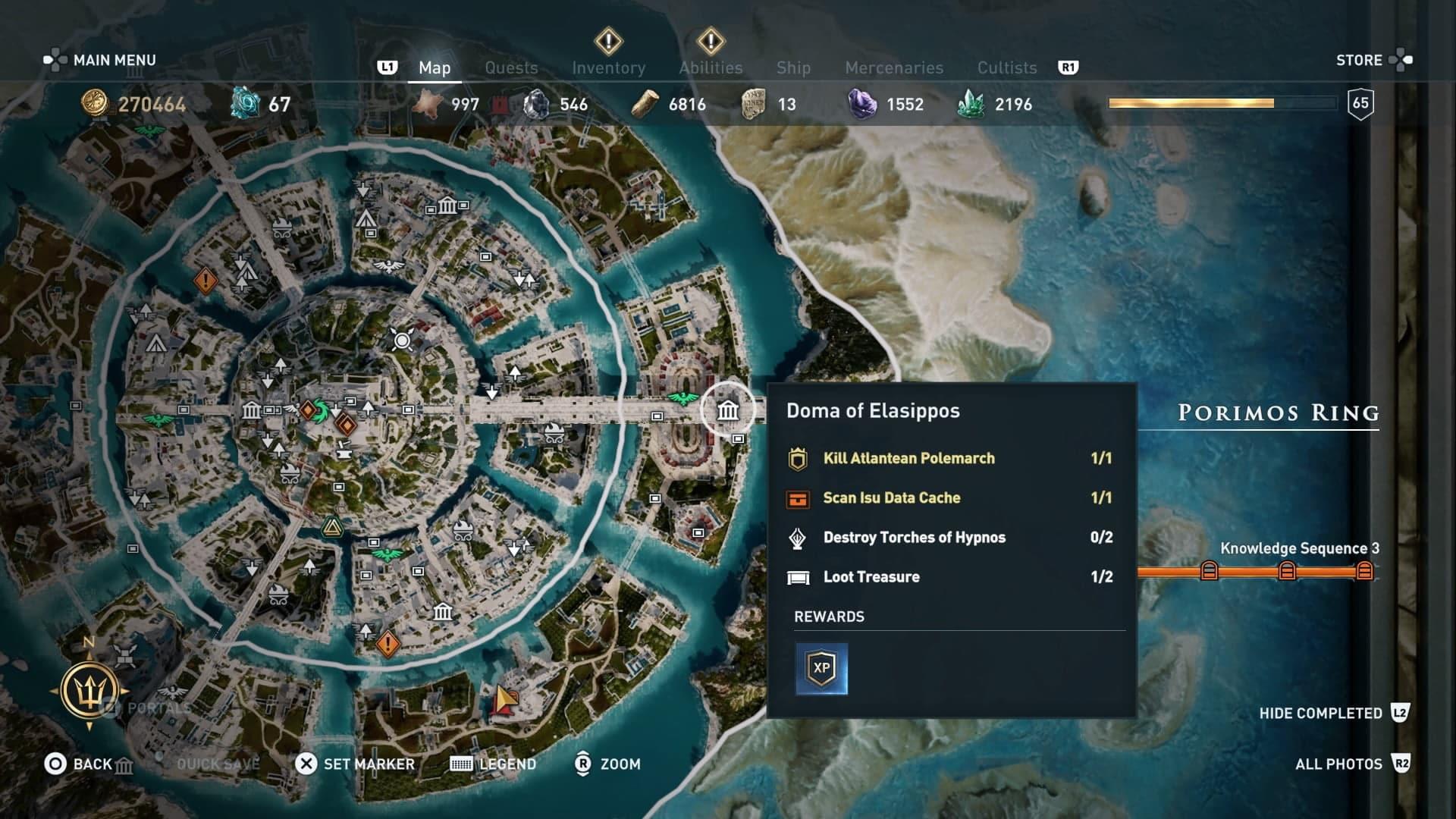 Assassins Creed Odyssey: Dónde encontrar toda la armadura Dikastes