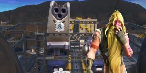 Fortnite Dónde encontrar el Fortbyte 52 - Fábrica de Robots