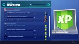Fortnite: Desafíos de Tiempo Extra - Misiones y Recompensas