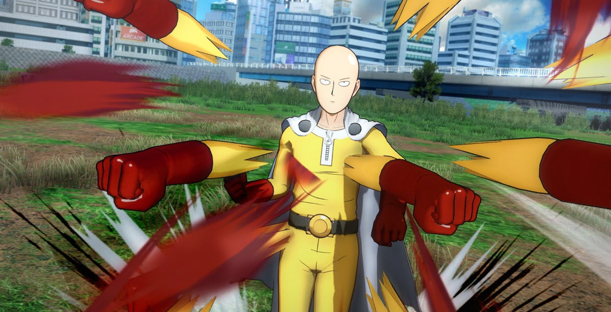 One Punch Man A Hero Noboy Knows Personajes