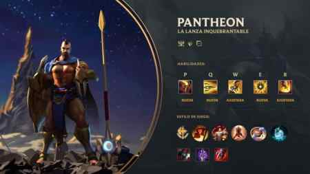 Pantheon League of Legends