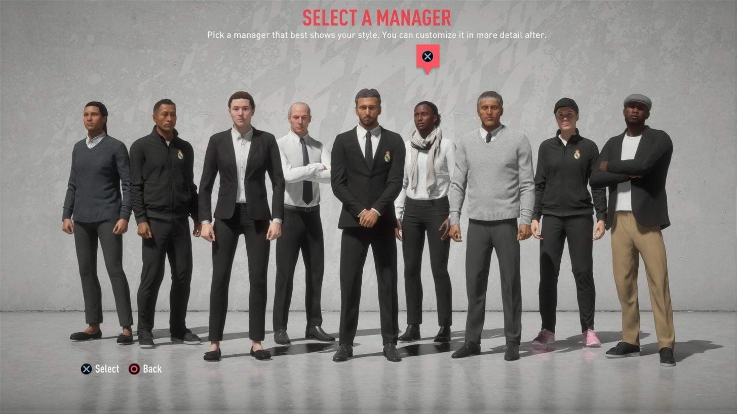 FIFA 20 Lista de las nuevas características y cambios del modo Carrera