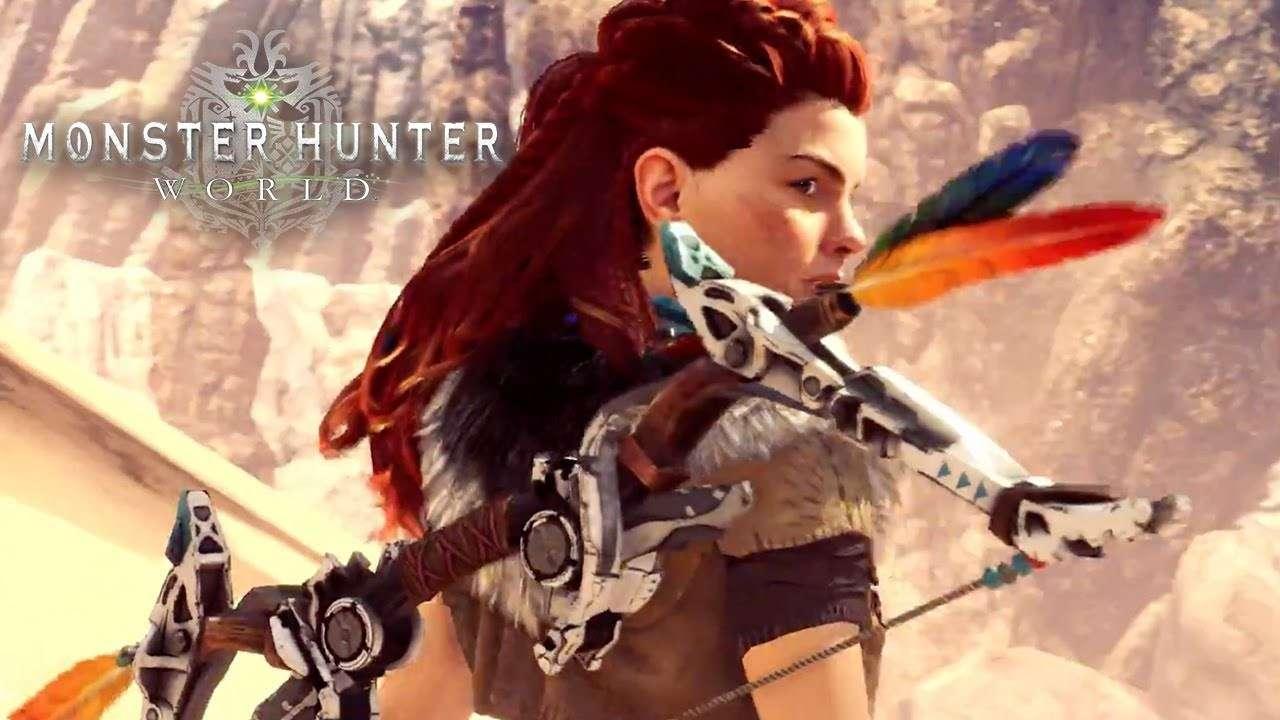 Monster Hunter World está recibiendo otro crossover de Horizon Zero Dawn