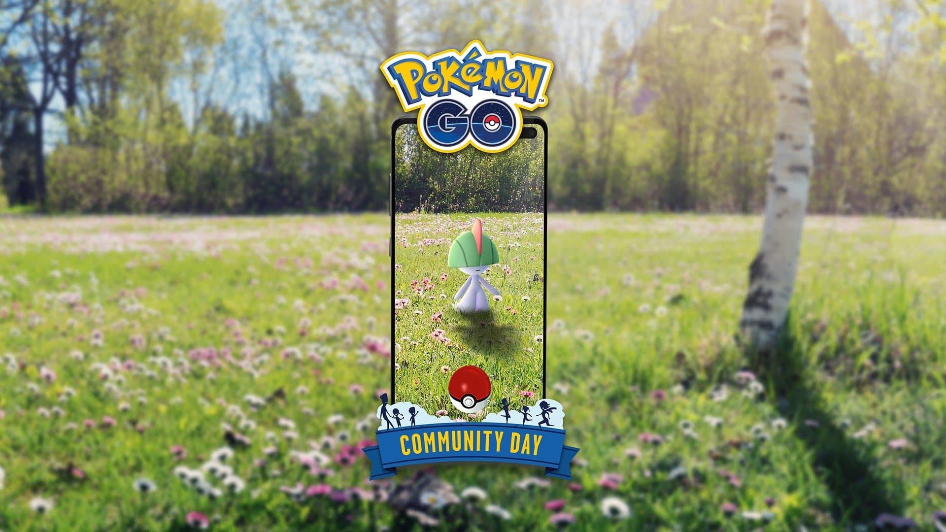Pokemon Go Evento del Día de la Comunidad de Ralts, Gardevoir y Gallade