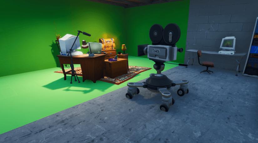 Cámara de Video en el Taquillazo de Fortnite